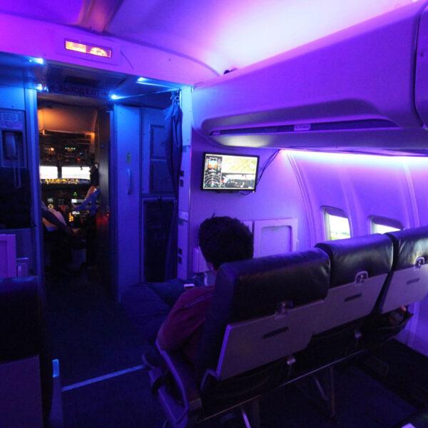 737 800 Simulator Cabin