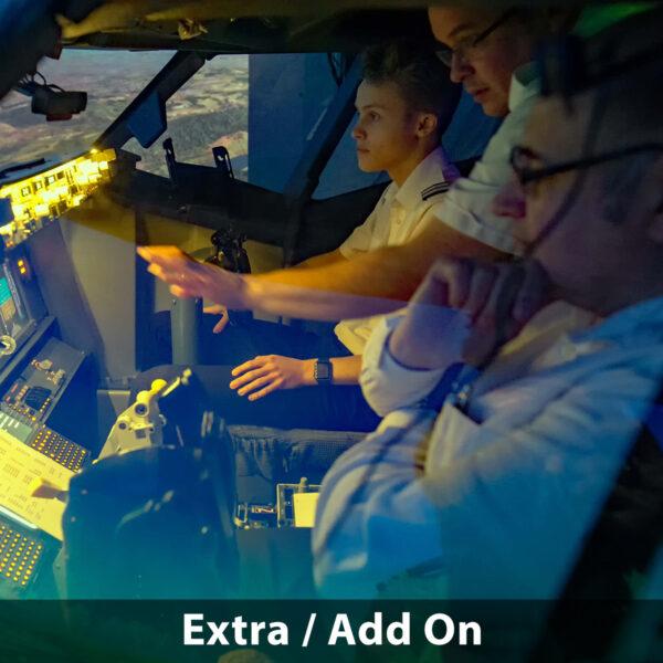 Concentration 737 800 simulator