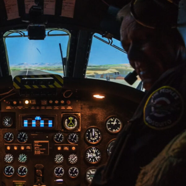 Ex Pilot Vulcan Bomber Simulator