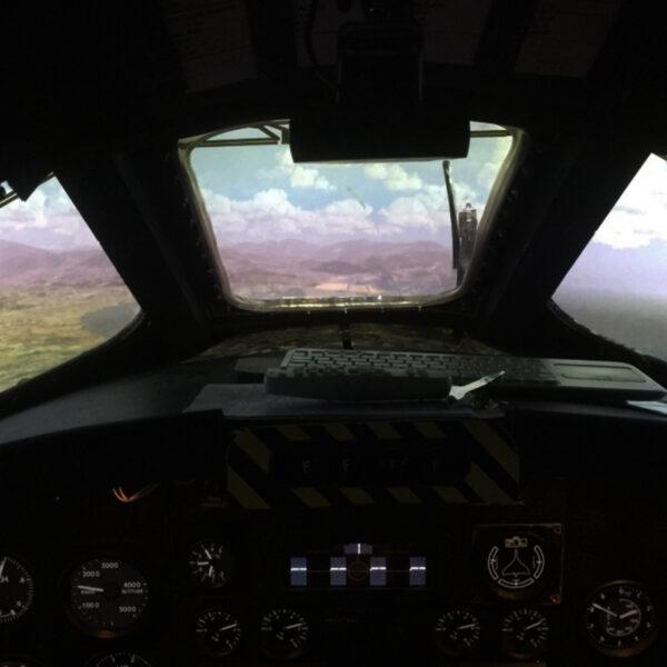 Vulcan Bomber Simulator View