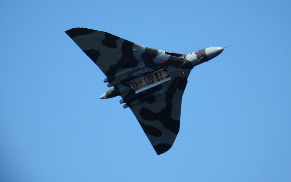 Vulcan Bomber Picture for reference