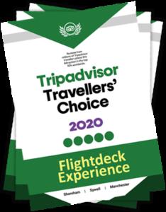 Tripadvisor Awards 2020 Certificate